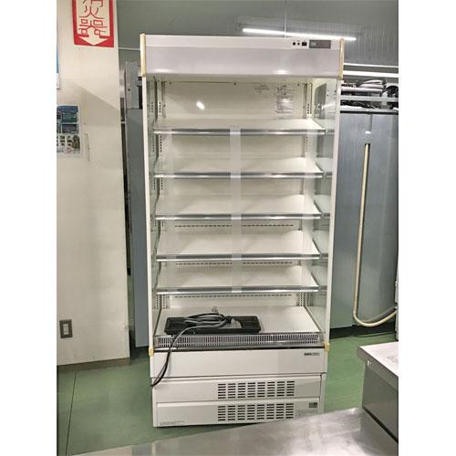【中古】冷蔵多段オープンショーケース パナソニック(Panasonic) SAR-U390L 幅890×奥行670×高さ1900 三相200V 【送料別途見積】【業務用】
