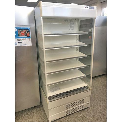【中古】冷蔵多段オーブンショーケース サンヨー SAR-U390N 幅890×奥行670×高さ1900 三相200V 【送料別途見積】【業務用】