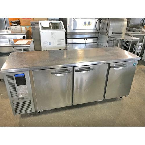 【中古】冷蔵コールドテーブル 福島工業(フクシマ) RT-180SNF-ML 幅1800×奥行600×高さ800 【送料別途見積】【業務用】
