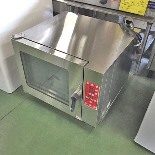 【中古】ベーカリーコンベクションオーブン マルゼン MBCO-4M-LP 幅700×奥行700×高さ585 【送料別途見積】【業務用】