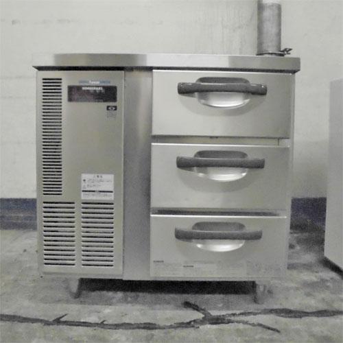 【中古】冷凍ドロワーコールドテーブル ホシザキ FT-80DNC 幅800×奥行650×高さ800 【送料別途見積】【業務用】