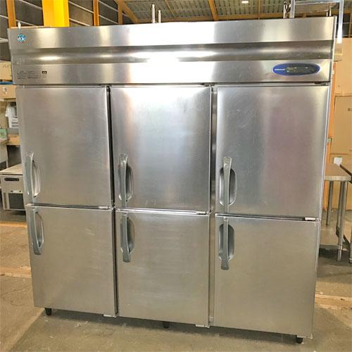 【中古】縦型冷凍冷蔵庫 ホシザキ HRF-180L23 幅1800×奥行800×高さ1900 三相200V 【送料無料】【業務用】