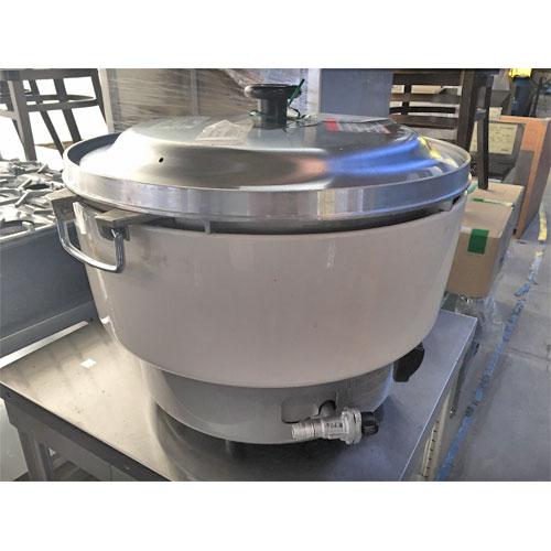【中古】ガス炊飯器 リンナイ RR-40S1 幅525×奥行481×高さ408 【送料別途見積】【業務用】