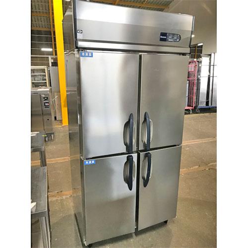 【中古】縦型冷凍冷蔵庫 大和冷機 311YS2-EC 幅900×奥行650×高さ1950 【送料無料】【業務用】