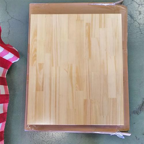 【中古】パイン集成材 テーブル天板 幅500×奥行600×高さ30 【送料無料】【業務用】