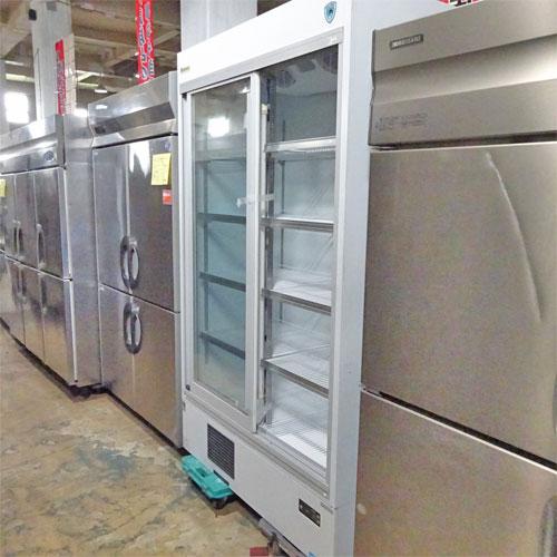 【中古】冷蔵リーチインショーケース 大和冷機 451AUJ 幅1200×奥行600×高さ800 【送料別途見積】【業務用】