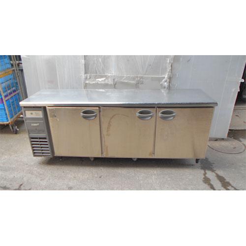 【中古】冷凍コールドテーブル 福島工業(フクシマ) YRC-210RE 幅2100×奥行600×高さ800 【送料別途見積】【業務用】