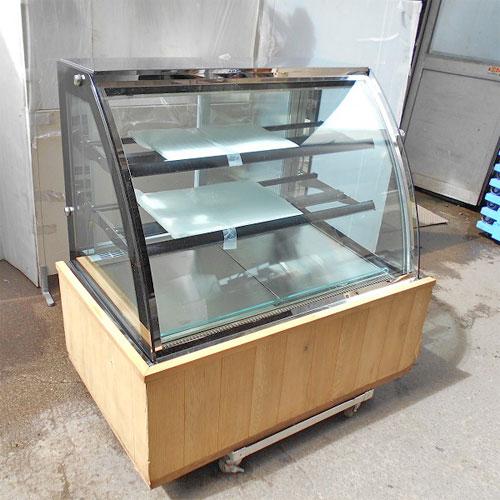 【中古】冷蔵ショーケース レマコム RCS-K120S2 幅1200×奥行790×高さ1200 【送料別途見積】【業務用】