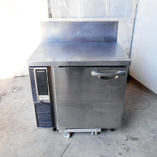 【中古】冷蔵コールドテーブル BG付き ホシザキ RT-80SNE1 幅800×奥行600×高さ800 【送料別途見積】【業務用】