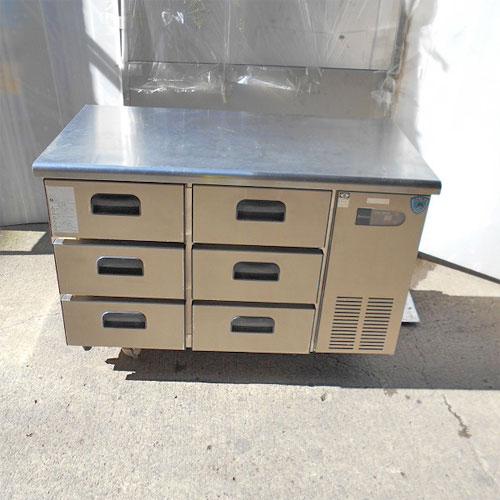 【中古】冷蔵ドロワーコールドテーブル ダイワ 4861CD3-R-CK 幅1200×奥行600×高さ800 【送料別途見積】【業務用】