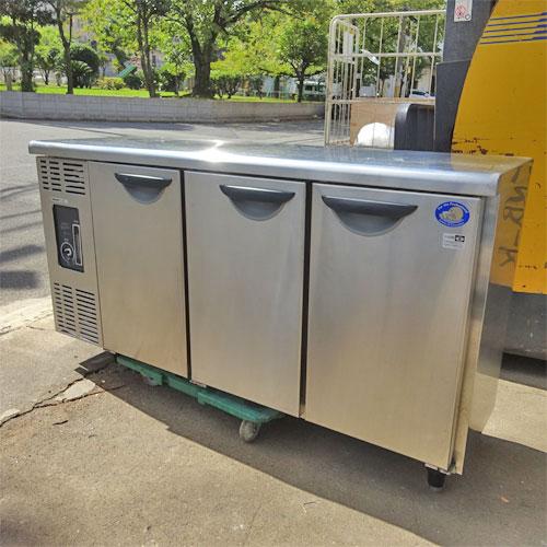 【中古】冷蔵コールドテーブル パナソニック(Panasonic) SUC-N1541J 幅1500×奥行450×高さ800 【送料別途見積】【業務用】