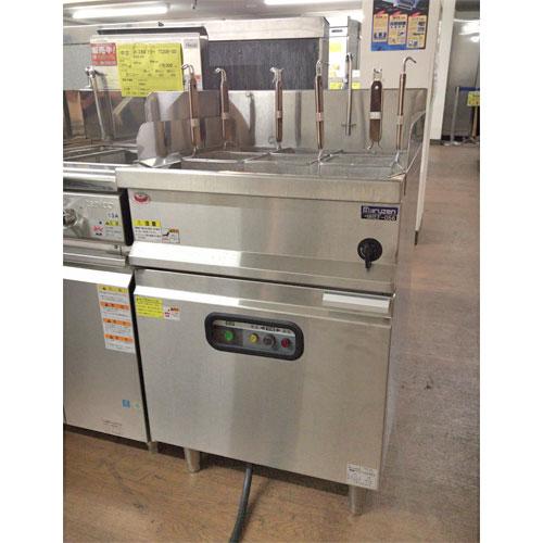 【中古】冷凍麺釜 マルゼン MREF-056 幅550×奥行600×高さ800 三相200V 【送料無料】【業務用】