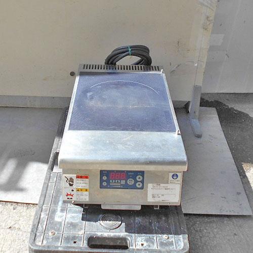 【中古】IH調理器 ニチワ MIR-3T-N6SP 幅300×奥行550×高さ190 三相200V 【送料別途見積】【業務用】