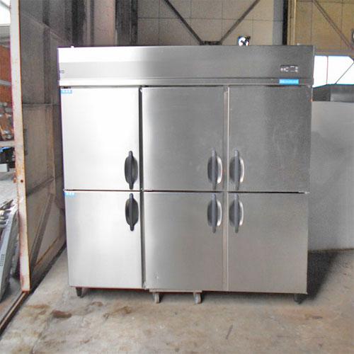 【中古】縦型冷凍冷蔵庫 大和冷機 671S2 幅1800×奥行800×高さ1905 【送料別途見積】【業務用】