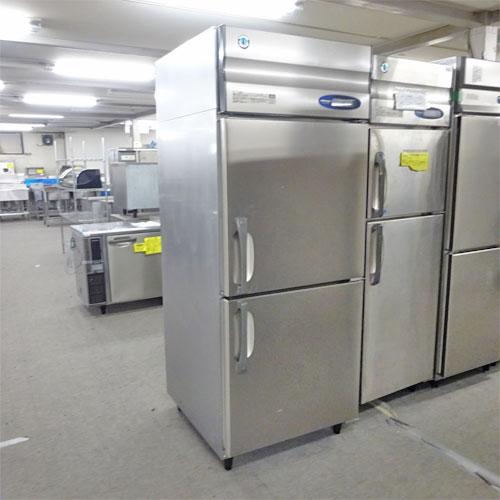 【中古】縦型冷凍庫 ホシザキ HF-75Z 幅750×奥行650×高さ1890 【送料別途見積】【業務用】