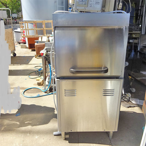 【中古】パススルー食器洗浄機 ホシザキ JWE-450WUA3 幅600×奥行650×高さ1300 三相200V 【送料別途見積】【業務用】