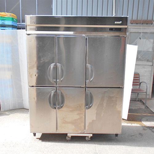 【中古】冷凍冷蔵庫 フクシマガリレイ(福島工業) URN-152RM3(改) 幅1490×奥行650×高さ1950 【送料別途見積】【業務用】