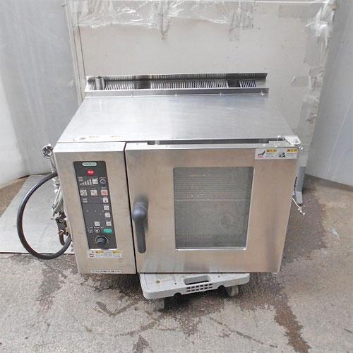 【中古】スチームコンベクションオーブン タニコー TSCO-4GBN2 幅750×奥行600×高さ610 LPG(プロパンガス) 【送料別途見積】【業務用】
