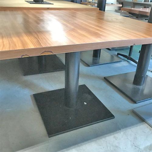【中古】テーブル 幅1000×奥行1000×高さ720 【送料別途見積】【業務用】