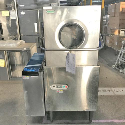 【中古】食器洗浄機ブースター付き タニコー TDWB-606 幅930×奥行700×高さ1450 三相200V 【送料別途見積】【業務用】