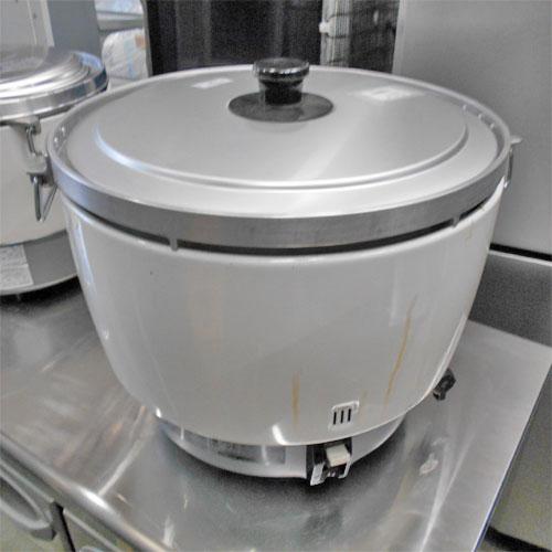 【中古】ガス炊飯器 パロマ PR-101DSS 幅450×奥行500×高さ470 LPG(プロパンガス) 【送料別途見積】【業務用】