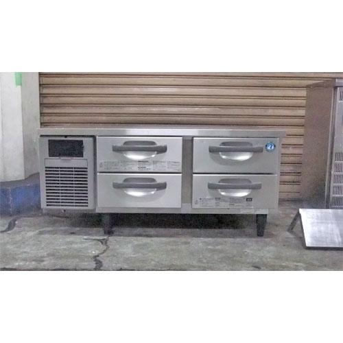 【中古】冷蔵ドロワーコールドテーブル ホシザキ RTL-120DDF 幅1200×奥行750×高さ550 【送料別途見積】【業務用】