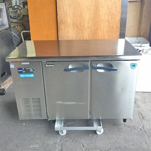 【中古】高湿氷温冷蔵コールドテーブル 大和冷機 4161HC-A 幅1200×奥行600×高さ800 【送料無料】【業務用】