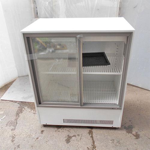 【中古】冷蔵ショーケース サンデン MU-330XB-C 幅900×奥行550×高さ1085 【送料別途見積】【業務用】
