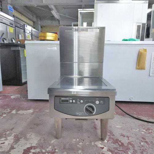 【中古】電磁調理器 ホシザキ HIH-5LB 幅450×奥行600×高さ450 三相200V 【送料無料】【業務用】