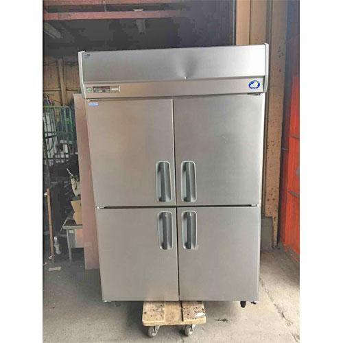 【中古】4ドア冷凍冷蔵庫 サンヨー SRR-J1261CVS 幅1200×奥行650×高さ1950 【送料別途見積】【業務用】