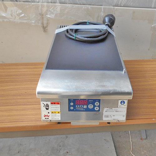 【中古】IH調理器 ニチワ電機 MIR-3T-N6SP 幅300×奥行550×高さ190 三相200V 【送料無料】【業務用】