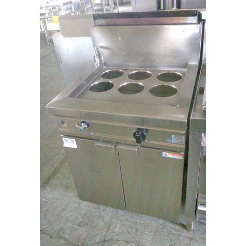 【中古】ゆで麺機 フジマック FGNB606006A 幅600×奥行600×高さ800 LPG(プロパンガス) 【送料無料】【業務用】