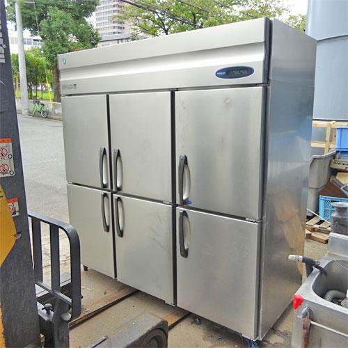 【中古】縦型冷凍冷蔵庫 ホシザキ HRF-180Z3-TH 幅1800×奥行800×高さ1900 三相200V 【送料別途見積】【業務用】