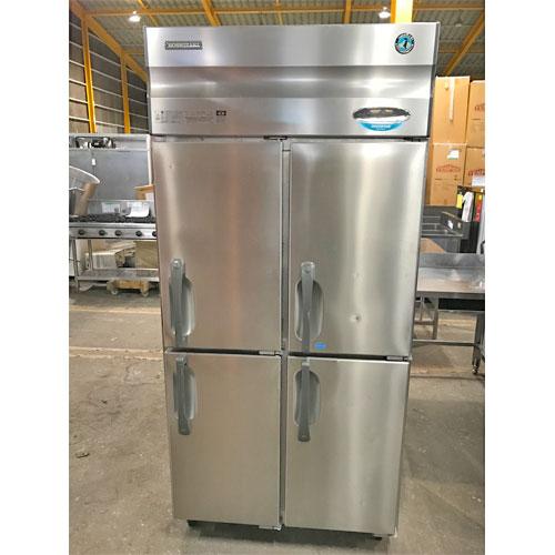 【中古】縦型冷凍冷蔵庫 ホシザキ HRF-90XT3 幅900×奥行650×高さ1900 三相200V 【送料無料】【業務用】
