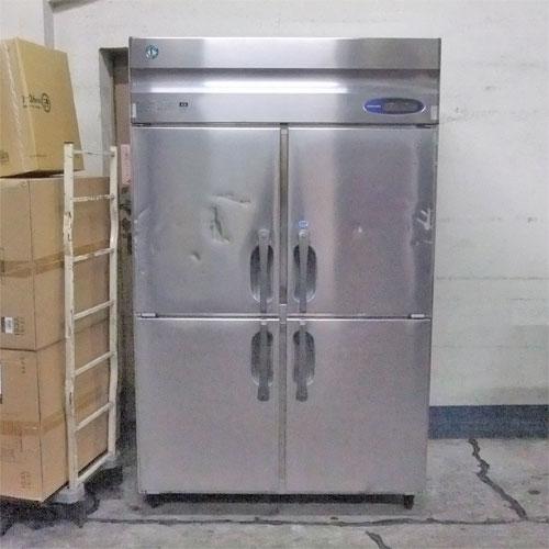 【中古】4ドア冷凍冷蔵庫 ホシザキ HRF-120LZT 幅1200×奥行650×高さ1890 【送料別途見積】【業務用】
