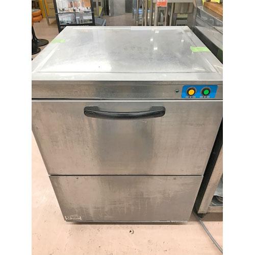 【中古】食器洗浄機 テンポス TBDW-400U3 幅600×奥行600×高さ800 三相200V 【送料無料】【業務用】