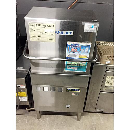 【中古】食器洗浄機 日本洗浄器 82EA-X 幅600×奥行670×高さ1340 三相200V 60Hz専用 【送料別途見積】【業務用】