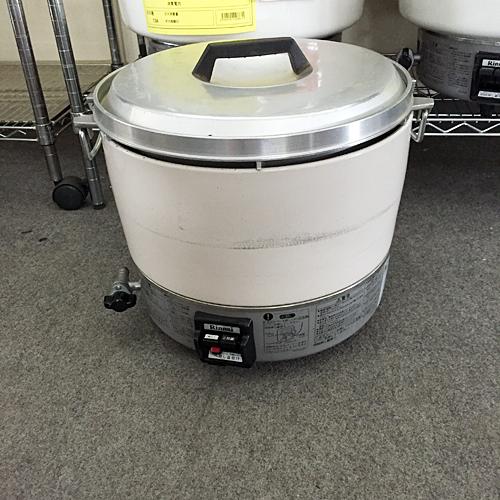 【中古】ガス炊飯器 リンナイ RR-30S1 幅450×奥行410×高さ360 都市ガス 【送料別途見積】【業務用】