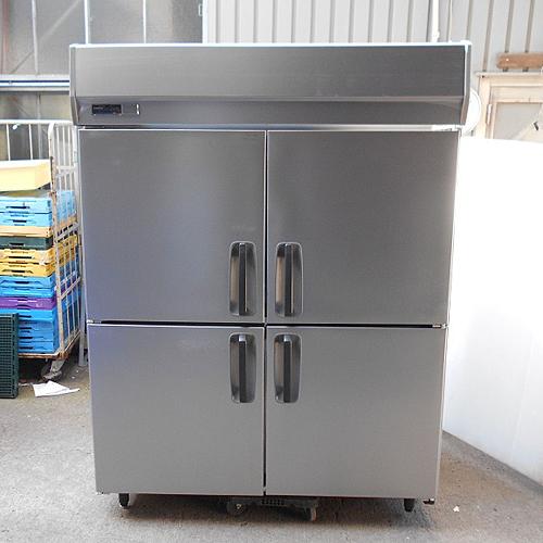 【中古】4ドア縦型冷凍庫 パナソニック(Panasonic) SRF-K1583SA 幅1500×奥行800×高さ1940 三相200V 【送料別途見積】【業務用】