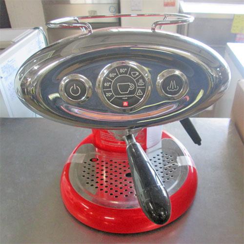 【中古】エスプレッソマシーン カプセル式 キーコーヒー X7.1 幅270×奥行290×高さ300 【送料無料】【業務用】