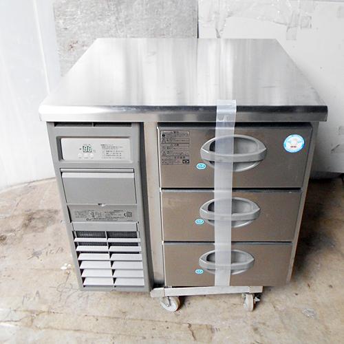 【中古】冷凍ドロワーコールドテーブル フクシマガリレイ(福島工業) YDW-083FM2 幅755×奥行750×高さ800 【送料別途見積】【業務用】