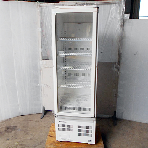 【中古】冷蔵ショーケース パナソニック(Panasonic) SMR-R70SKMB 幅460×奥行492×高さ1522 【送料別途見積】【業務用】