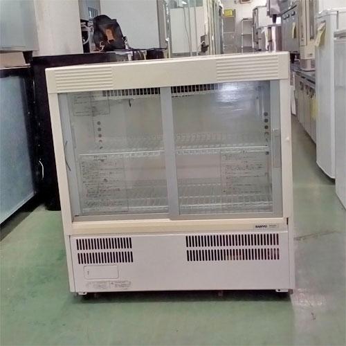 【中古】冷蔵ショーケース 三洋電機 SMR-U45NA 幅750×奥行450×高さ800 【送料別途見積】【業務用】