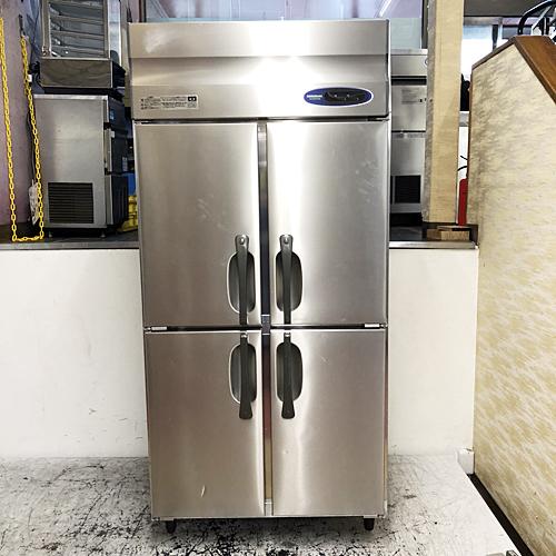 【中古】縦型冷凍冷蔵庫 ホシザキ HRF-90Z3 幅900×奥行800×高さ1890 三相200V 【送料別途見積】【業務用】
