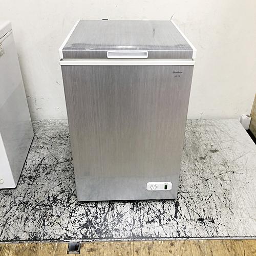 【中古】冷凍ストッカー 三ツ星貿易 KM-100 幅535×奥行590×高さ890 【送料無料】【業務用】