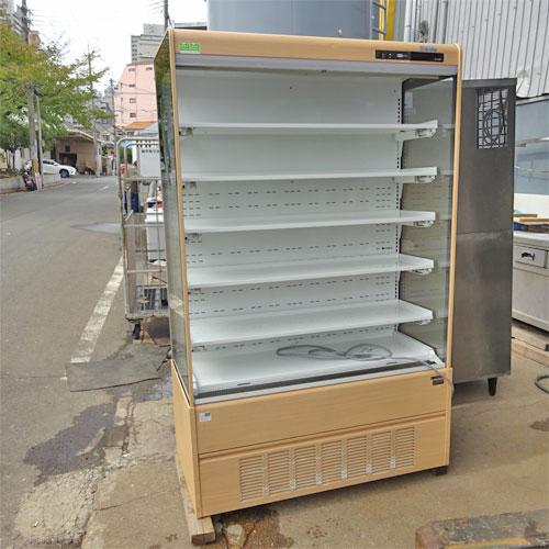 【中古】冷蔵多段オープンショーケース サンデン RSD-S4FZCS5DJ 幅1190×奥行600×高さ1900 三相200V 【送料別途見積】【業務用】