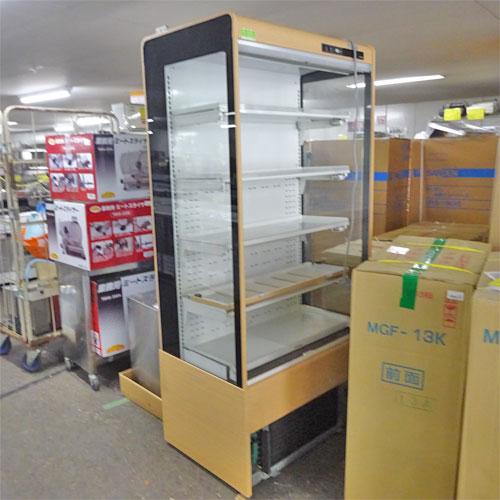 【中古】冷蔵多段オープンショーケース サンデン RSD-S3FZCS5DJ 幅890×奥行600×高さ1900 三相200V 【送料別途見積】【業務用】