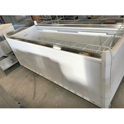 【中古】平型冷凍ショーケース サンデン WLO-223Z 幅2260×奥行910×高さ910 三相200V 【送料無料】【業務用】