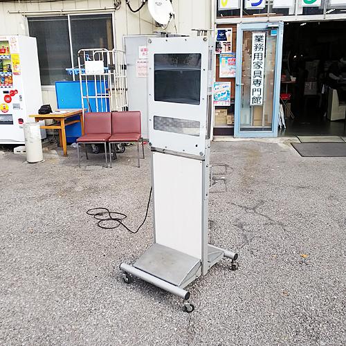【中古】電子看板 (リモコン付き) TOWA DS-FL419S 幅590×奥行650×高さ1690 【送料別途見積】【業務用】
