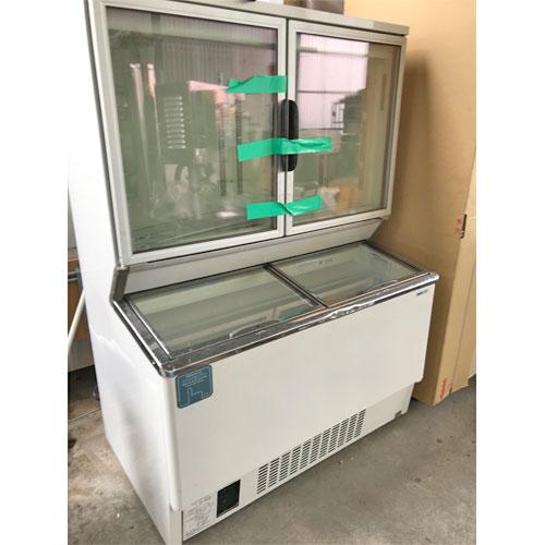 【中古】デュアル型冷凍ショーケース パナソニック(Panasonic) SCR-D1203NA 幅1204×奥行749×高さ1615 三相200V 【送料別途見積】【業務用】